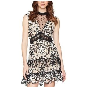 Romeo and Juliet Couture Illusion Lace Dress